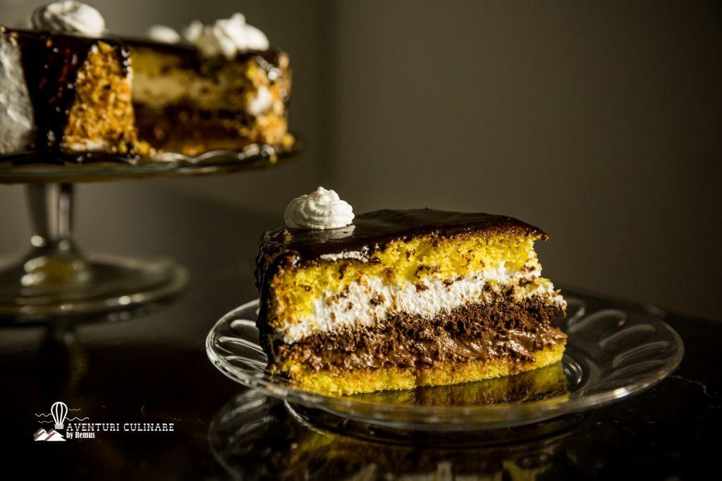 Tort Krantz tort gustos cu crema si nuca