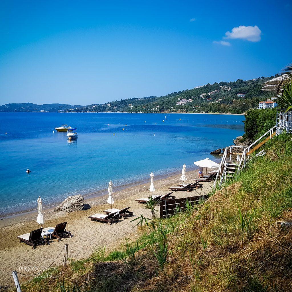 Plaja Megali Ammos, Skiathos, Grecia