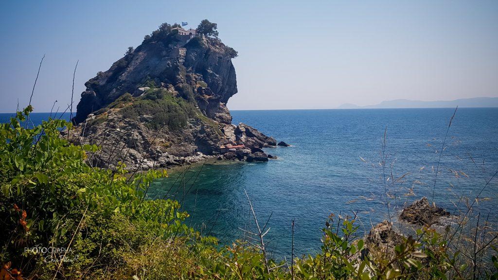 Biserica Mamma Mia - Agios Ioannis, insula Skopelos