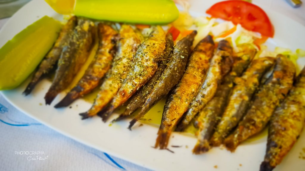 Sardine Taverna Kyratso's Kitchen Skopelos Town