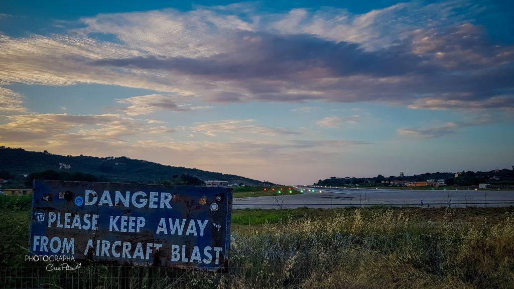 Aeroportul din Skiathos