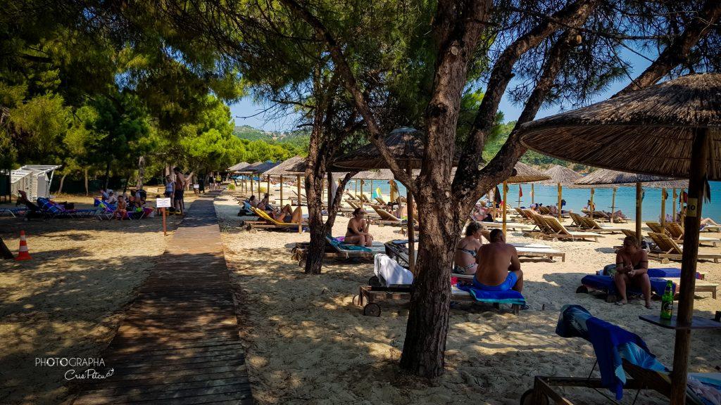 Plaja Koukounaris, Skiathos, Grecia
