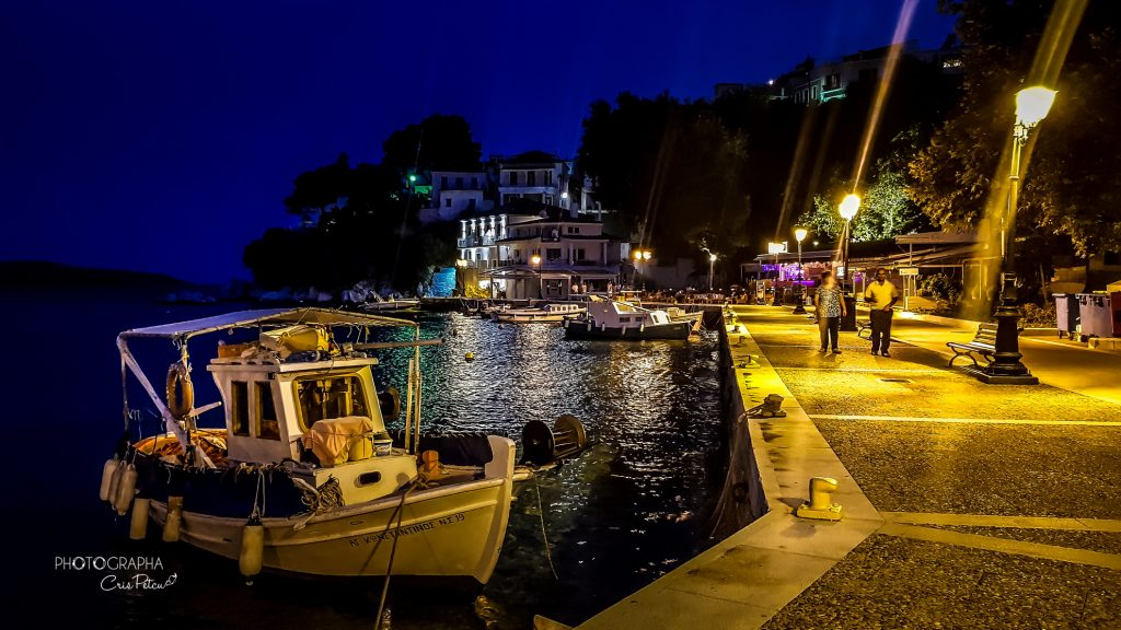 Portul vechi - Skiathos, Grecia