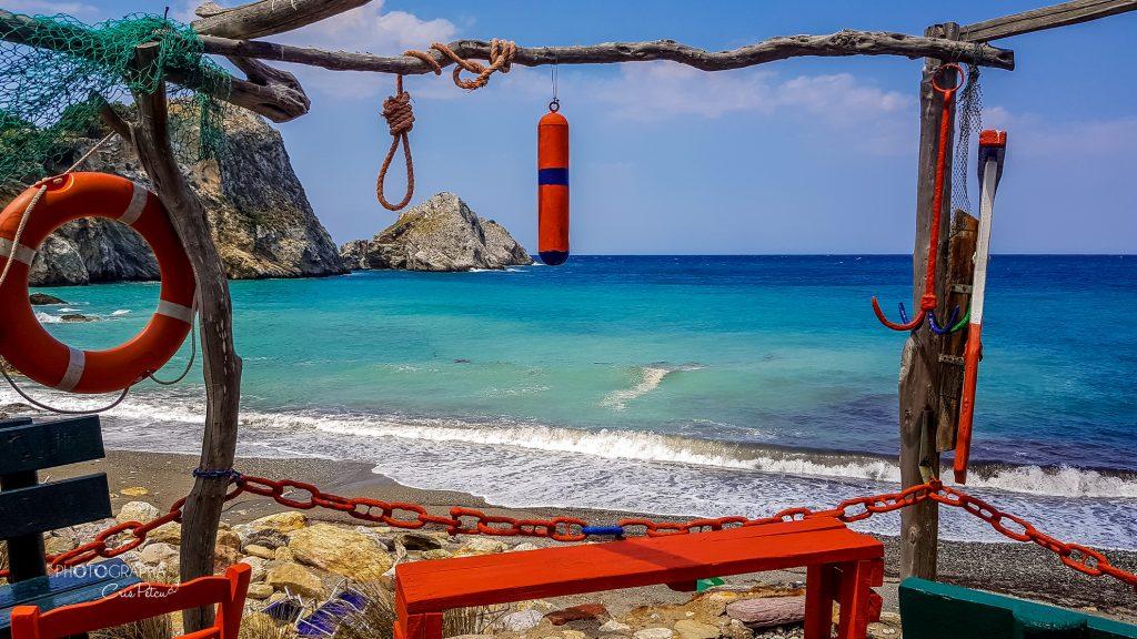 Priveliște Beach bar Kastro