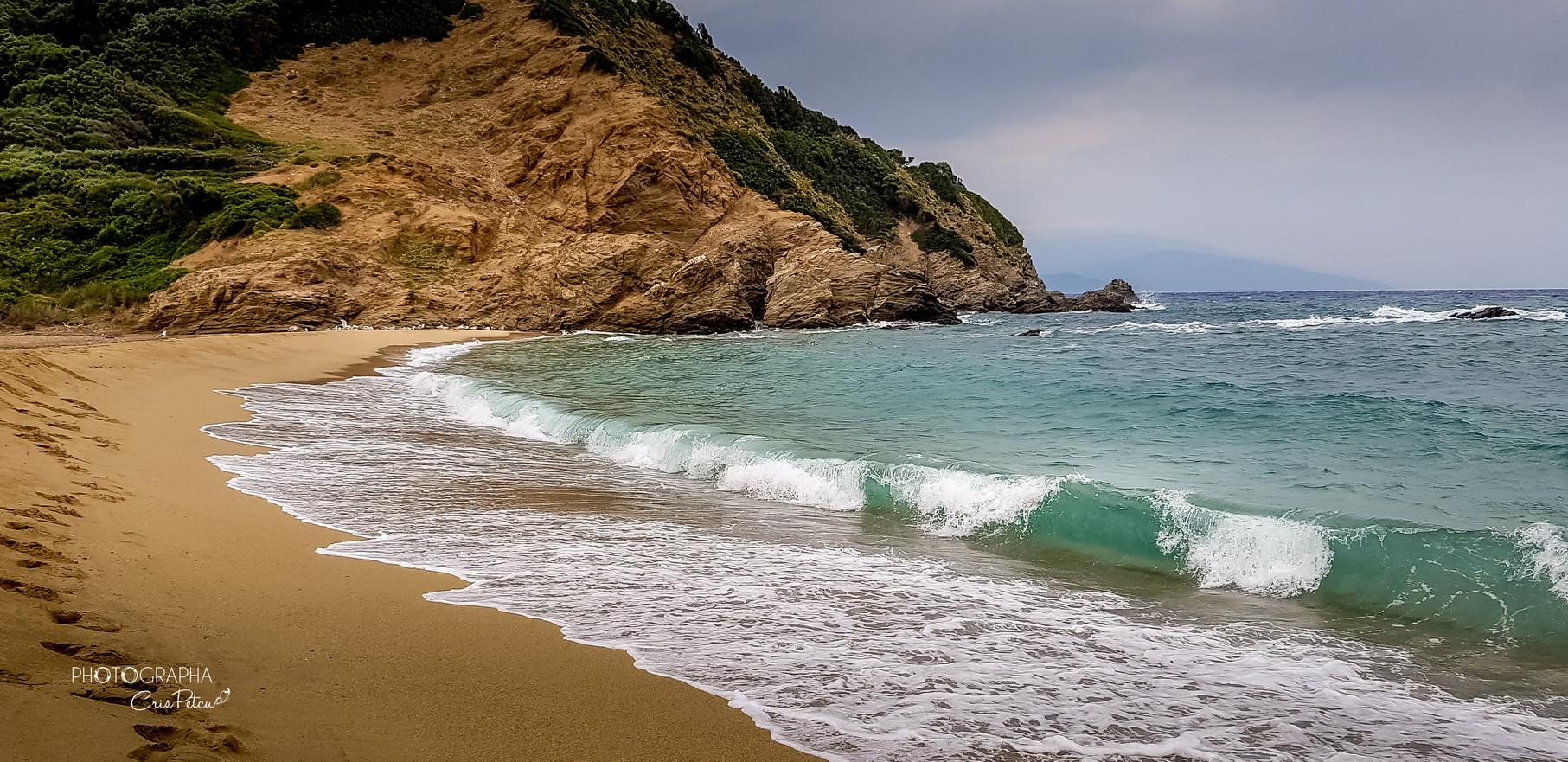 Plaja Aselinos, Skiathos, Grecia