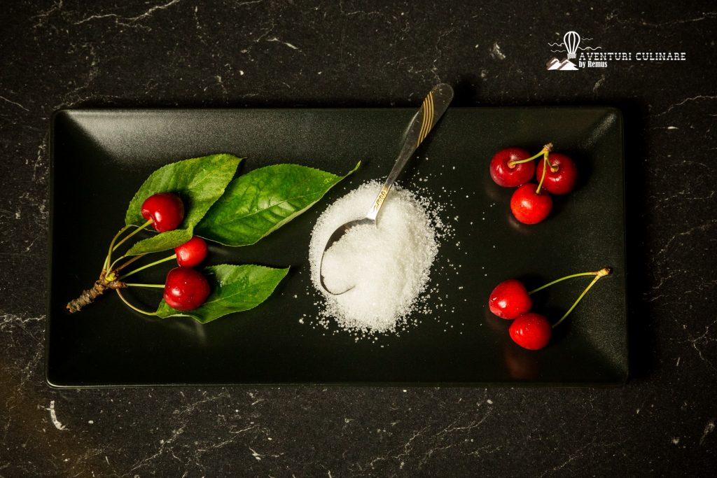Ingrediente compot de cireșe