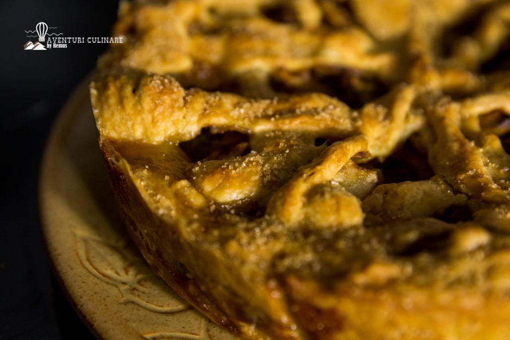 Plăcintă americană cu mere (vegană)