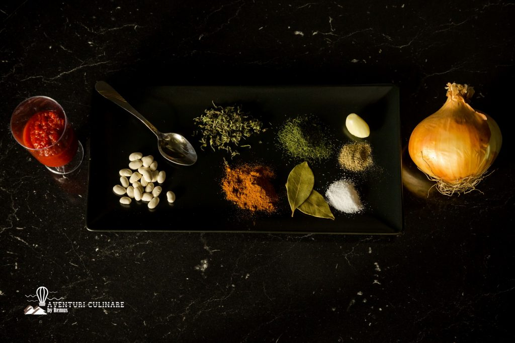 Ingrediente iahnie de fasole