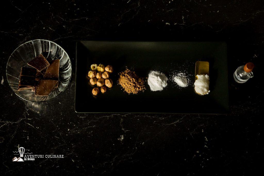 Ingrediente crema de ciocolata cu alune de padure
