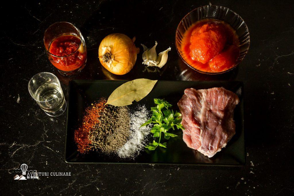Tocanita de porc - ingrediente
